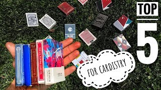 Best Playing Cards for Cardistry // TOP 5