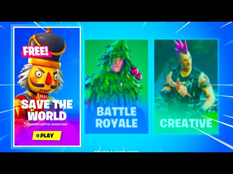 Fortnite SAVE THE WORLD Is Now FREE!!..