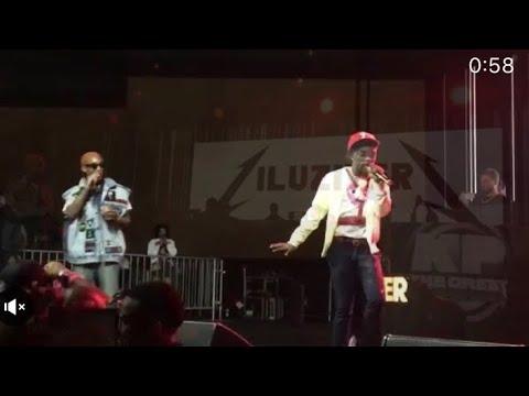 """LIL UZI VERT / PHARRELL Perform """"Neon Guts"""" Complex"""