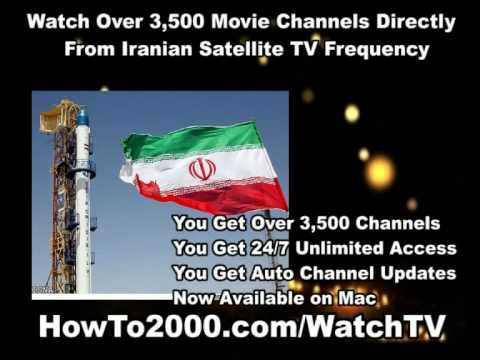Iranian Satellite TV Frequency | Watch Over 3500 Movie Channels!