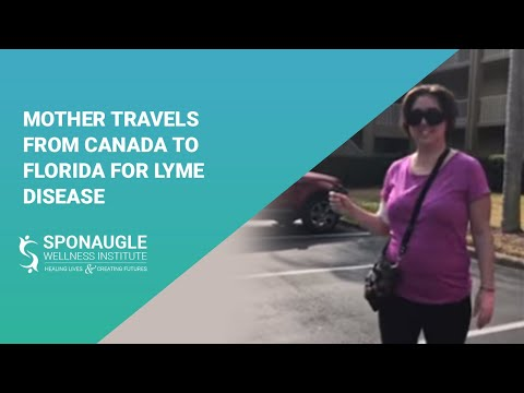 Mother travels from Canada to Florida for Lyme Disease Treatment