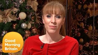 Shadow Education Secretary Angela Rayner speaks to GMB about the pa...
