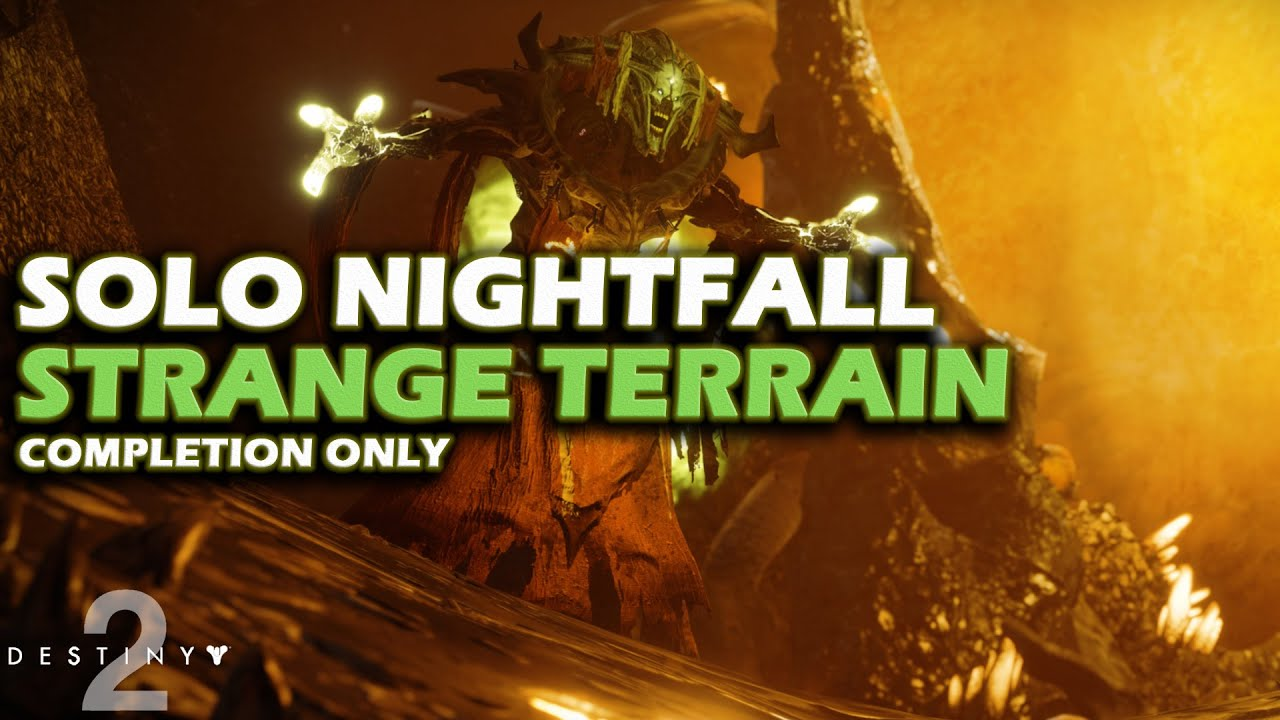 Destiny 2 - Nightfall Solo Guide - Strange Terrain - Nokris - Completion -  Week of Sept 3rd