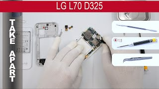 how to disassemble  LG L70 D325, Take Apart, Tutorial