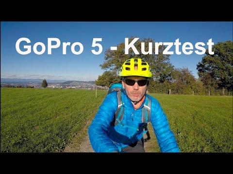 GoPro HERO 5 Black - Kurztest am MTB - Audio und Bildqualität - Deutsch