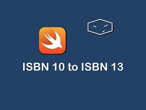 isbn 10 to isbn 13 in swift 3