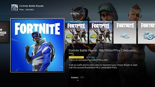 How To Get The PS Plus Skin Without Having PS Plus Fortnite Battle Royale!