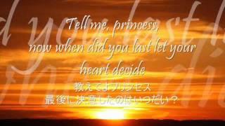 a whole new world アラジン歌詞和訳 Lyrics Japanese translation
