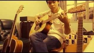 Snow flower(Yuki no hana) guitar