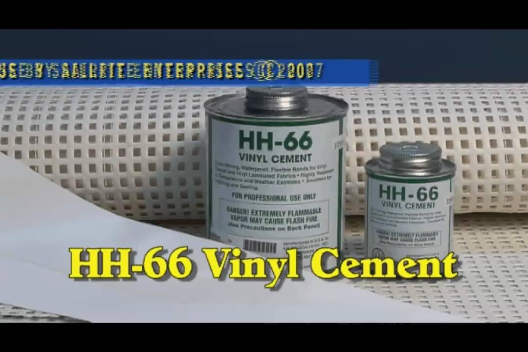 Vinyl Cement HH-66 for Vinyl Fabrics