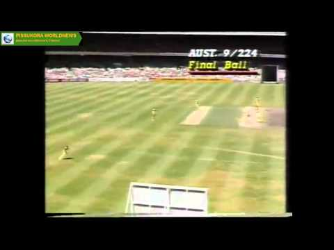 Sri Lanka's first ODI win on Australian soil, 1985