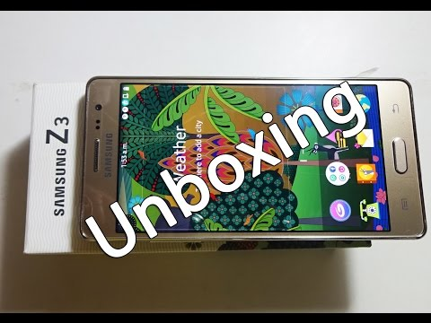 Samsung Z3 Unboxing with Tizen OS