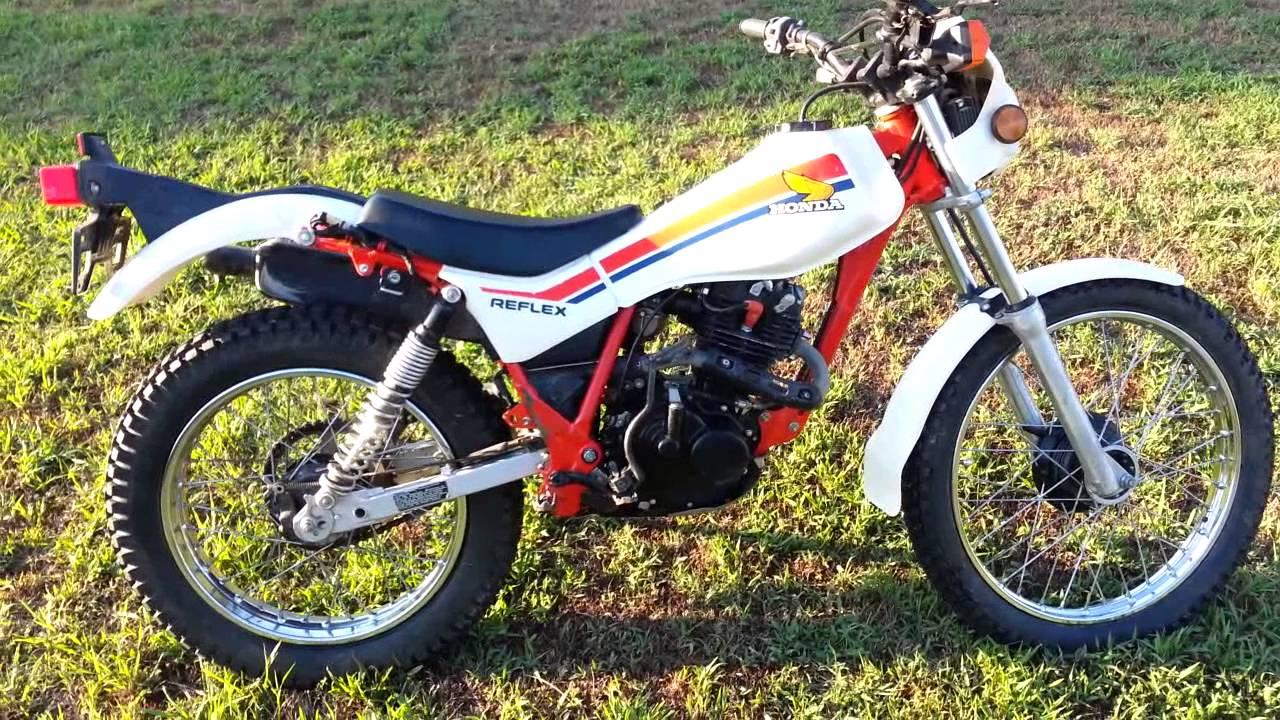 1986 TLR200 Honda Reflex - YouTube