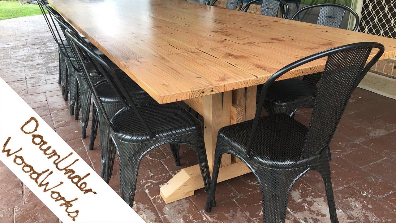 Oregon Douglas Fir Outdoor Table
