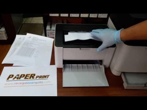 Solucionar manchas en impresión de impresoras Samsung