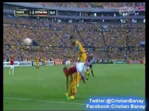 (Emocionante Relato) Tigres 3  Internacional  1 (RG Monterrey Radio) Copa Libertadores 2015