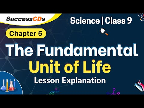 The Fundamental unit of Life - NCERT Book Class 9  Chapter 5 science