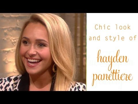 "Hayden Panettiere Celebrity Earrings- Look like the star of ""Nashville""!"