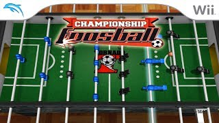 Championship Foosball | Dolphin Emulator 5.0-9331 [1080p HD] | Nintendo Wii