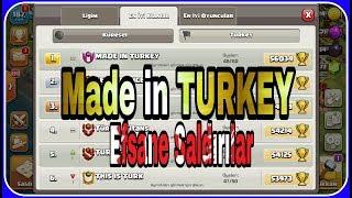 Made in Turkey Klanından Efsane Lig Saldırıları Clash of clans