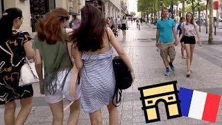 Avenue Des Champs-Élysées Paris 2018 Visual Walk Tour In Hd  1080p 60fps