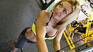 Тренировка для стройности ножек. Екатерина Усманова.(, 2013-01-28T06:27:06.000Z)