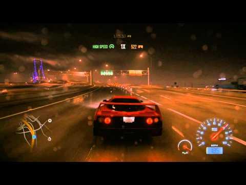 Need For Speed (2015) Ferrari F40 Top Speed (full Upgrades)