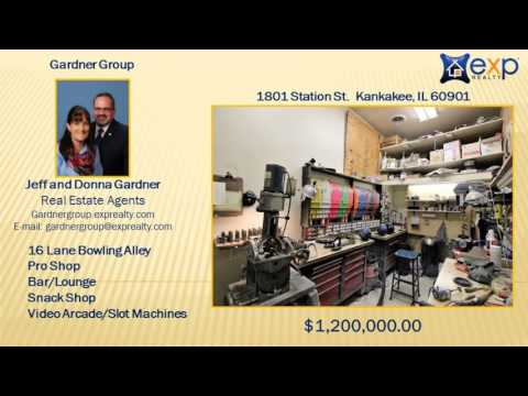 16 Lane Bowling Alley And Entertainment Center For Sale In Kankakee, IL 60901