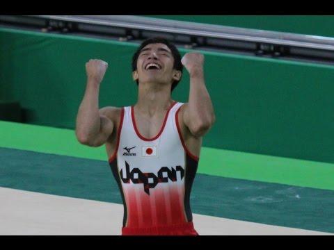 白井健三選手 異次元のひねり リオ五輪での床