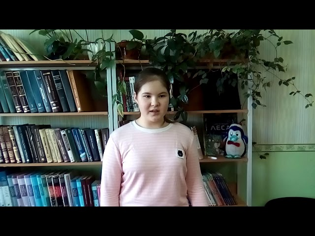 Изображение предпросмотра прочтения – РомияВалиахматова читает произведение «Снег да снег» А.А.Блока