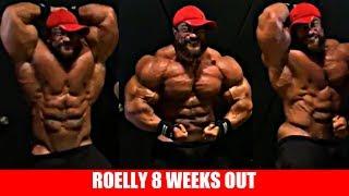 Roelly Winklaar 8 Weeks Out - Can he win?