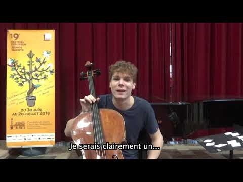 Interview Portrait Chinois - Bruno Philippe - Festival Européen Jeunes Talents