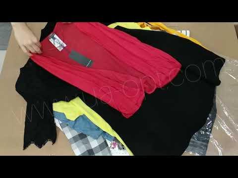 Одежда оптом Brand Mix сток осень-зима 11,9 €/кг лот #184