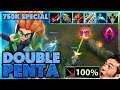 AD ZOE IS BROKEN | 750K GIVEAWAY | DOUBLE PENTA AD ZOE - BunnyFuFuu