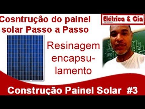 Construção do Painel Solar