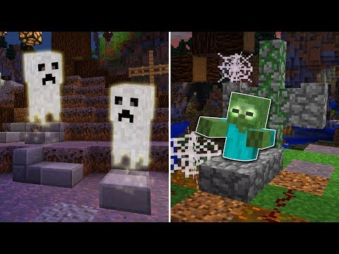 6 SECRET SCARY Things You Can Make in Minecraft! (Pocket Edition, PS4/3, Xbox, Switch, PC)