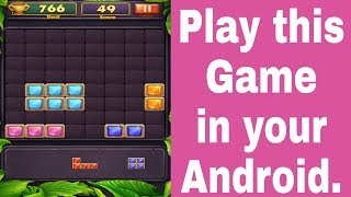 block puzzle game play in your Android,, Block Puzzle Classic - 1000 plus.