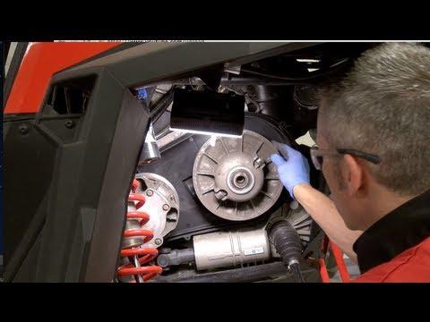 Polaris RZR 900 primary clutch removal, PowerModz!