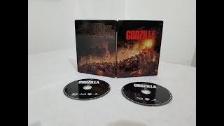 Godzilla 3D Future Pak Edition Bluray Movie unboxing