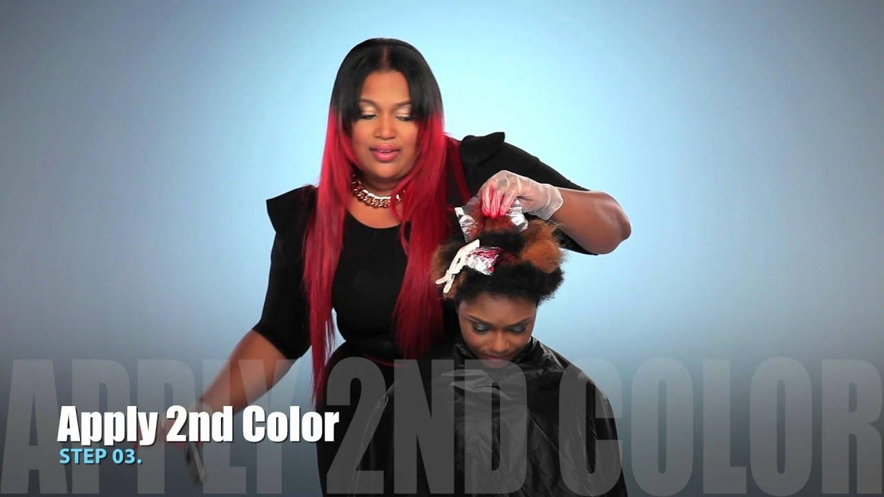 Kiss Express Color Color Cocktail Semi Permanent Hair