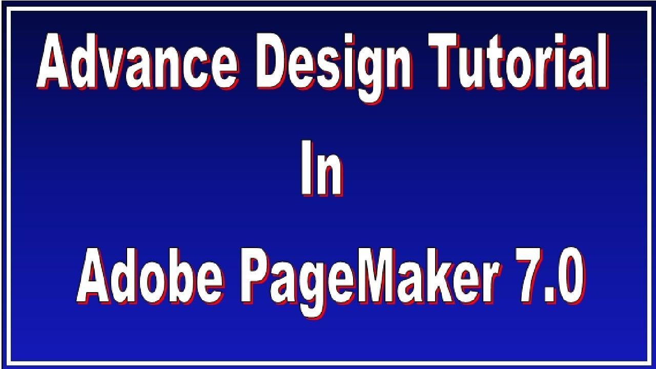 Free adobe pagemaker 7. 0 tutorial pdf by tiforrilog issuu.