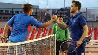 Fina³ tenisowych MO: Jordan Czapski - Adam Ot³owski