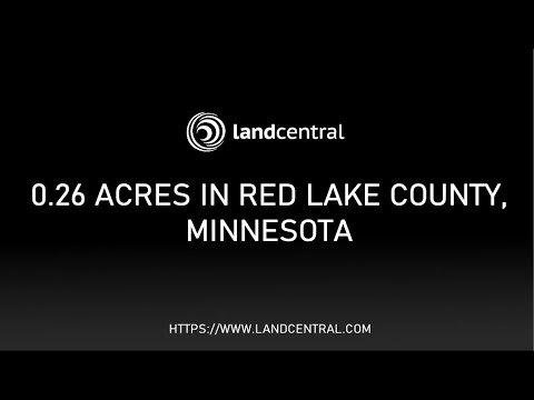 Property 13071: 0.26 acres in Red Lake County, MN