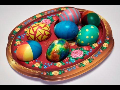 Чем можно покрасить яйца, если нет краски