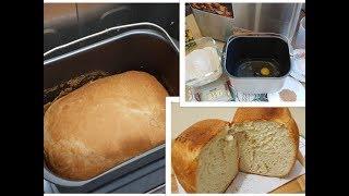 Печем в хлебопечке: Яичный белый хлеб