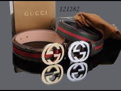 aa28c12f3a3 Gucci Belt Real Vs Fake Comparison - YouTube