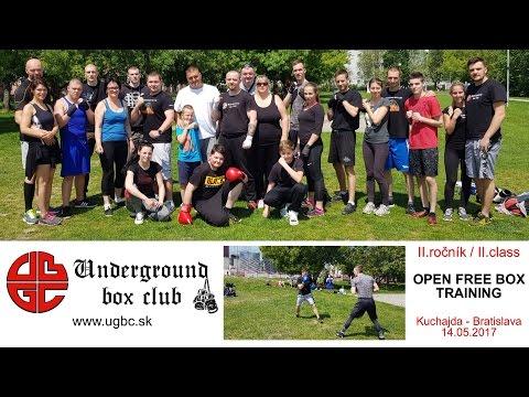 2.ročník/class OPEN FREE BOX TRAINING ::: Underground box club Bratislava :::: Kuchajda - Bratislava