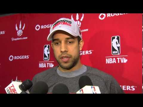 Landry Fields on Injury - November 15, 2012