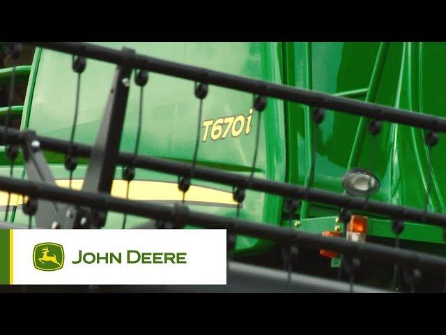 John Deere - Mietitrebbie serie T - Field impressions