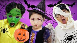 Farce ou friandise! Jeu magique d'Halloween de Boram